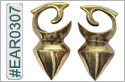 #EAR0307 Nickel-free Brass Earring Weights