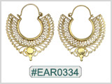 #EAR0334 Fashion Brass Earring