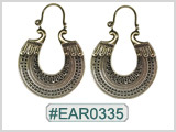 #EAR0335 Fashion Brass Earring