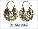#EAR0336 Fashion Brass Earring