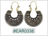 #EAR0338 Fashion Brass Earring