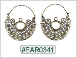 #EAR0341 Fashion Brass Earring
