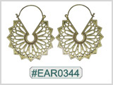 #EAR0344 Fashion Brass Earring