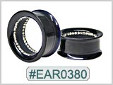 EAR0380, Inner Gem Ear Tunnels