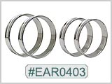 EAR0403, 316LVM Diamond Cut Jumbo Tunnels_THUMBNAIL