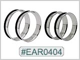 EAR0404, 316LVM Single Flare Jumbo Tunnels