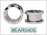 EAR0405, Gem Threaded Tunnels_THUMBNAIL