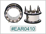 EAR0410, Long Spike Ear Tunnels
