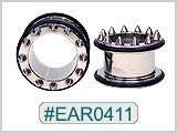 EAR0411, Short Spike Ear Tunnels