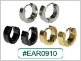 EAR0910, Ear Cuff Clicker Hoops THUMBNAIL