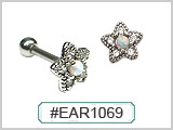 EAR1069 Beaded Star Opal & Gems THUMBNAIL