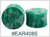 EAR4085, Green Coral Ear Plugs
