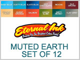 Eternal Ink Muted Earth, 12 Color Ink Set THUMBNAIL