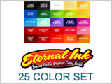 Eternal Ink Set of 25 Tattoo Colors THUMBNAIL