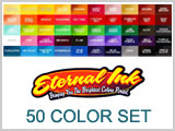 Eternal Ink Set of 50 Tattoo Colors THUMBNAIL