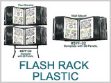 Flash Rack Display Plastic