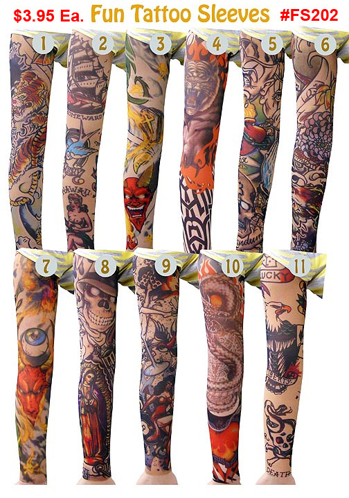 FS202, Fun Tattoo Sleeves MAIN
