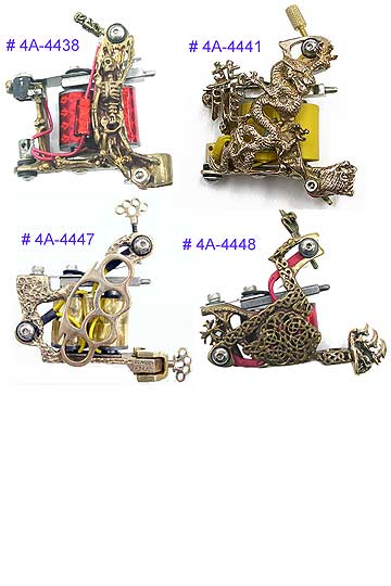 Ftw Brass Tattoo Machines 2 MAIN