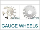 PT201, PT202 Gauge Wheels
