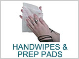 Hand Wipes & Prep Pads