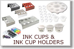 Ink Cups and Ink Cup Holders