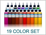 19 Color  Ink Set