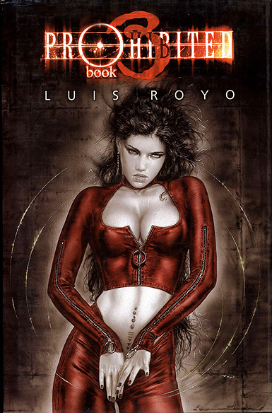KART1219 Luis Royo Prohibited Book 3 MAIN