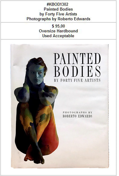 KBOD1302 Painted Bodies by Forty Five Artists MAIN