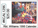 KCAL1296 Robert Williams 1998 Calendar THUMBNAIL