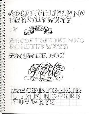 Bj Betts Lettering Guide 2