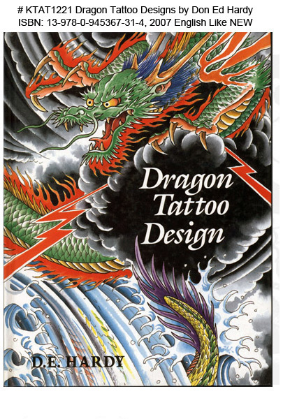 KTAT1221 Dragon Tattoo Designs Don Ed Hardy MAIN