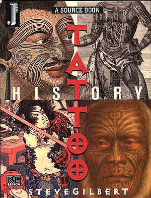 KTAT2132, Tattoo History: A Source Book by Steve Gilbert LARGE