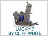 Lucky 7 Old Timer Iron Shader Tattoo Machine # 4a-4726, Shader, THUMBNAIL