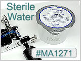 Sterile Water USP in convenience 3.07 Oz, 110 ml plastic cups_THUMBNAIL