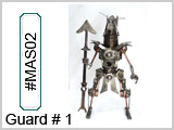 MAS02 Guard # 1 Metal Art