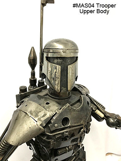 MAS04 Trooper Metal Art Sculpture_MAIN