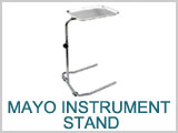 Mayo Rolling Instrument Table