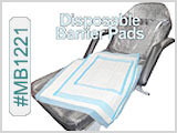 Disposable Barrier Pads for Chairs/Tables
