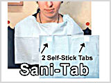 MB1351, SaniTab Towels, Bibs THUMBNAIL