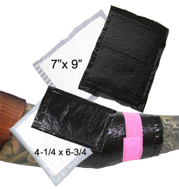 MD1141, MD1142 Large Size Black Bandages