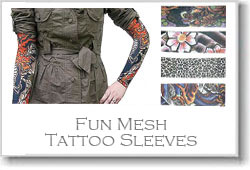 Fun Tattoo Mesh Sleeves