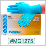 MG1275, Safe-Touch Nitrile Gloves