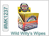 MK1237 Wild Willy's Tattoo Wipes