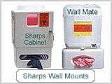 MT1273 Wall Mounted Sharps Containers