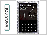 NOS074 Mini-Box Straight Nose Assorted