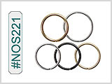 #NOS221 Micro Nose Hoop by Each THUMBNAIL