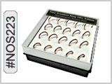 NOS223 Micro Nose Boxed Hoops THUMBNAIL