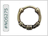 #NOS275 Septum Nose Jewelry Crown