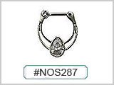#NOS287 Pear Shape Solitaire THUMBNAIL