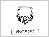 #NOS292 Filigree with Abalone THUMBNAIL